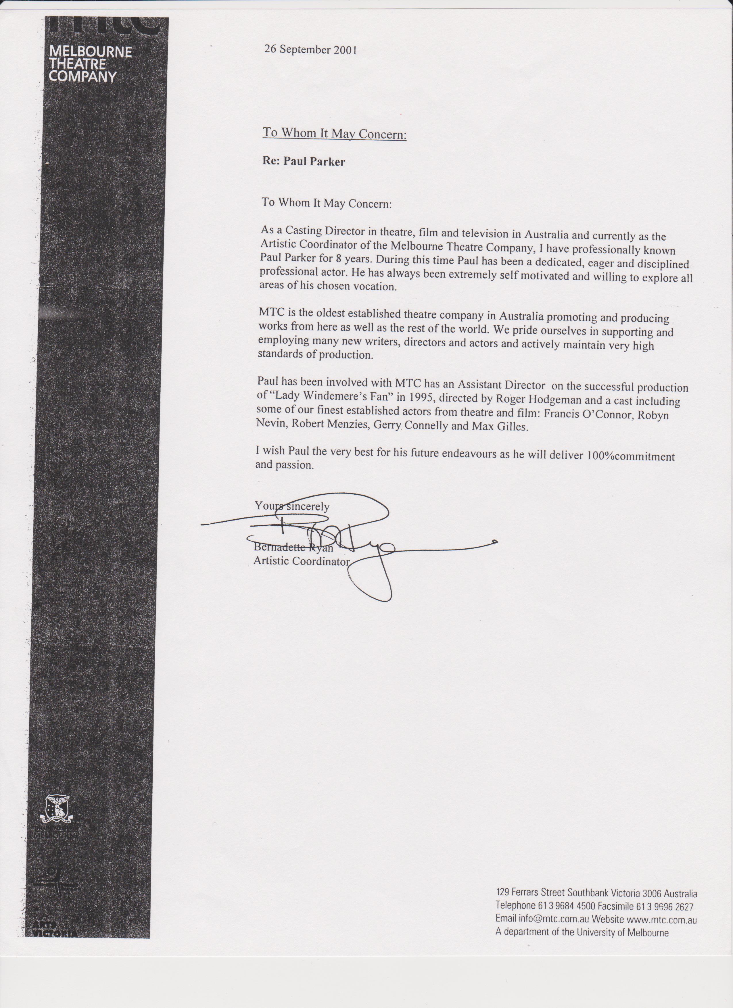 Paul parker performance coaching paul parker resume assistant director to roger hodgman spiritdancerdesigns Images